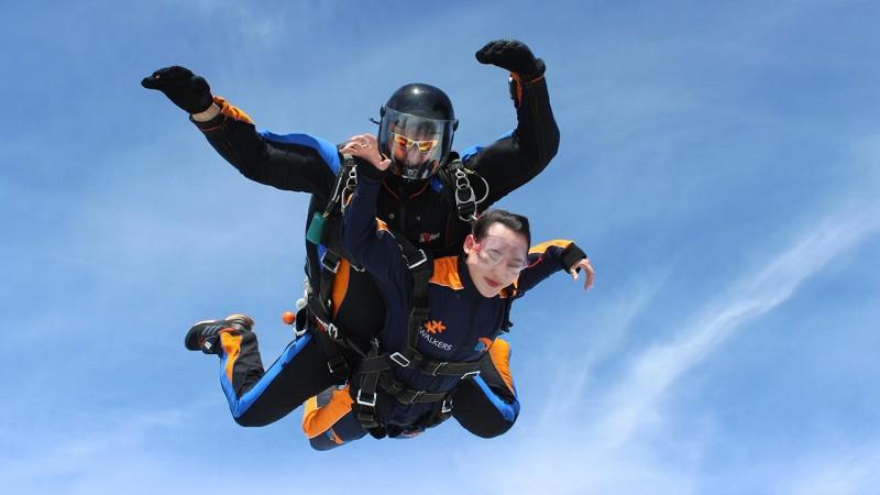 Skydive Prague Jump 2