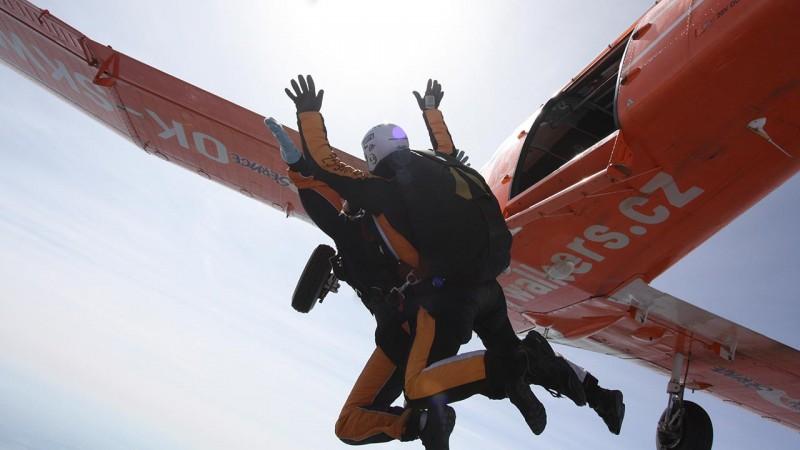 Skydive Prague Jump 3