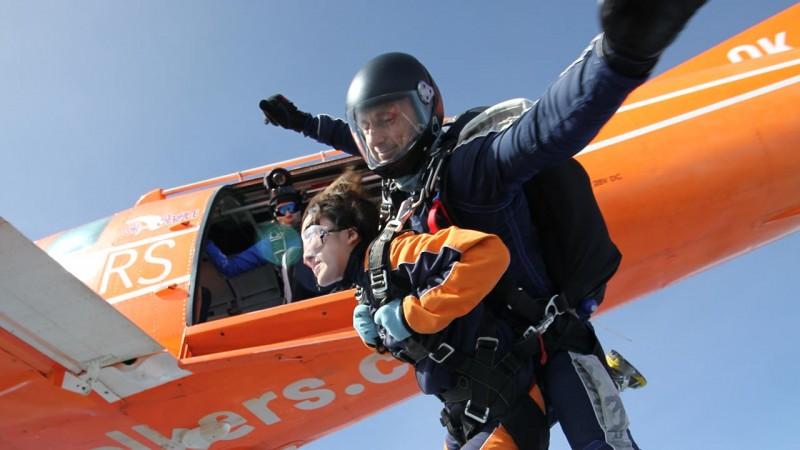 Skydive Prague Jump